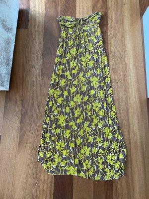 T-Bags Sukienka z dekoltem typu bandeau Wielokolorowy