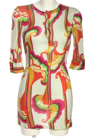 T-Bags Długa koszulka Abstrakcyjny wzór W stylu casual