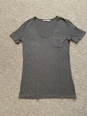 Alexander Wang T-shirt donkergrijs