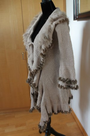 Knitted Coat multicolored wool
