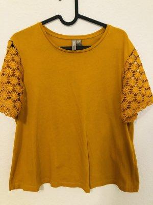 ASOS DESIGN T-shirt arancione chiaro-giallo-oro