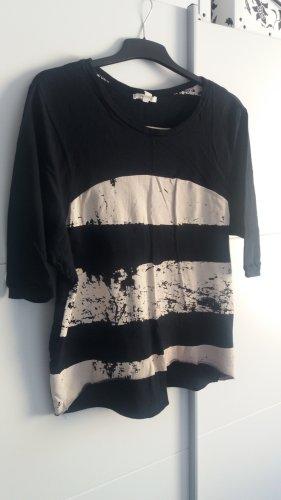 Oversized shirt zwart-room Katoen