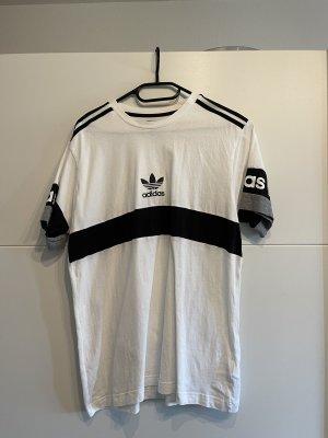 Adidas T-shirt wit-zwart