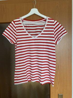 Jacqueline de Yong T-shirt rosso-bianco