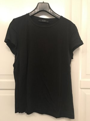 Hallhuber T-Shirt black cotton