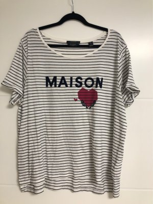 Maison Scotch Camisa de rayas multicolor