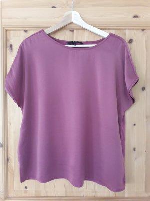 Vero Moda Koszulka basic szaro-liliowy
