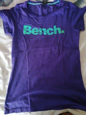 Bench T-shirt violet foncé-turquoise