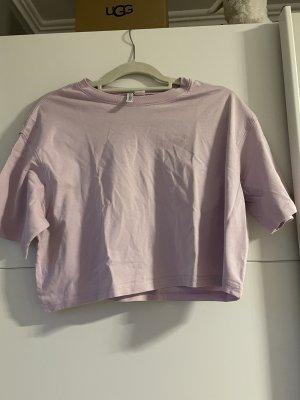 H&M Divided Camicia cropped malva