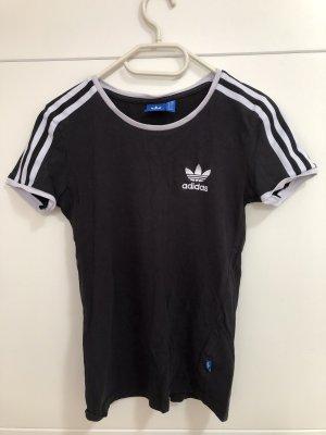 Adidas T-shirt czarny-biały