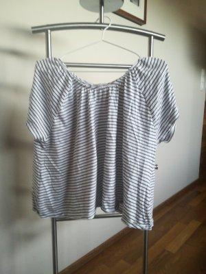 17&co T-shirt wit-zwart