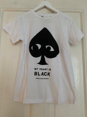 5 Preview T-shirt czarny-biały Bawełna