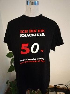 T-shirt 50. Geburtstag Gr. M