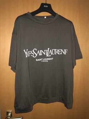 Camicia oversize grigio scuro