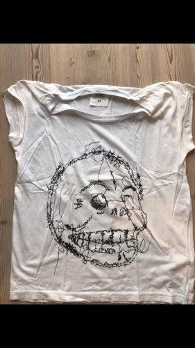 Cheap Monday T-Shirt white-black