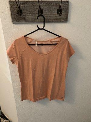 Decathlon Sports Shirt orange-apricot