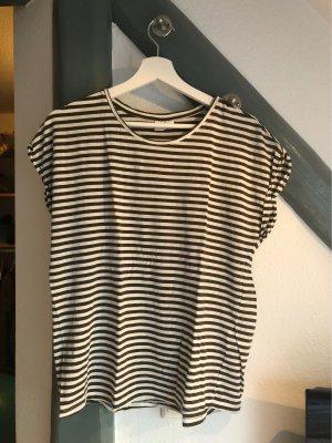 AWARE T-Shirt white-green grey