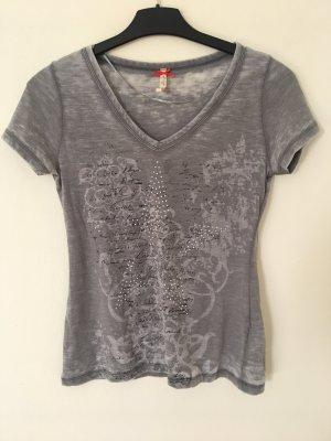 17&co V-Neck Shirt multicolored
