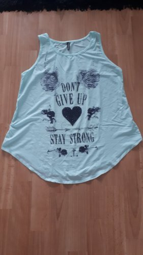 Madonna Camiseta azul claro