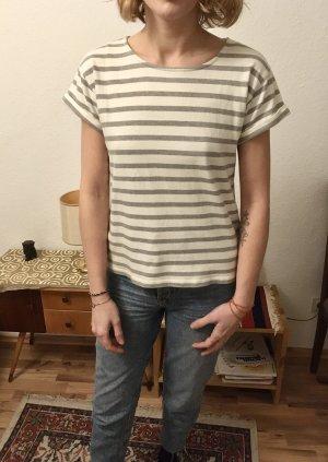 Sessun Camiseta blanco-gris claro