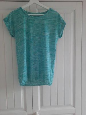 Sports Shirt turquoise cotton