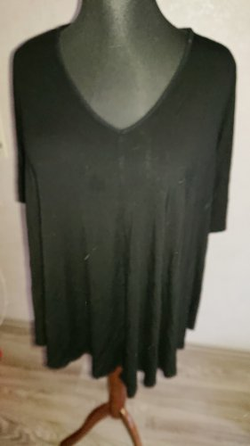 Green Envelope Short Sleeve Sweater black