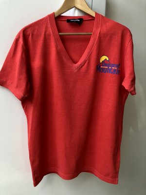 Dsquared2 T-shirt rouge