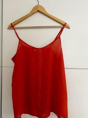 Esmara Chemise à manches courtes rouge