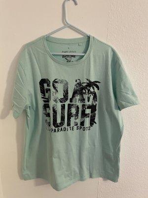 angelo litrico T-shirt vert menthe