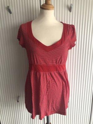 Esprit Gestreept shirt wit-rood