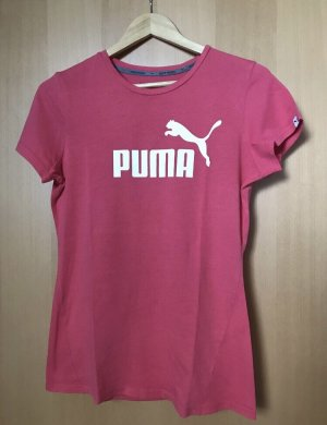Puma Camiseta magenta-rojo frambuesa