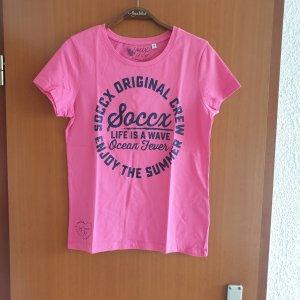 Soccx T-shirt rosa