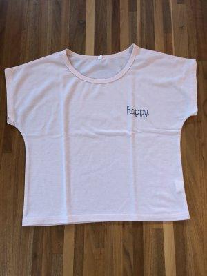 SheIn T-Shirt light pink-pink