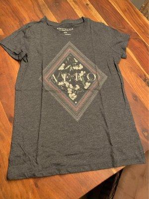 Aeropostale Camiseta estampada gris antracita-gris oscuro