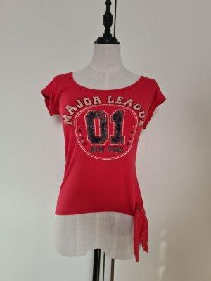 Jane norman T-shirt czerwony