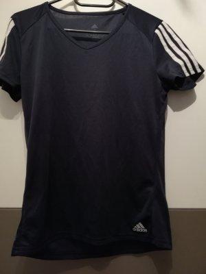 Adidas Maglietta sport blu scuro