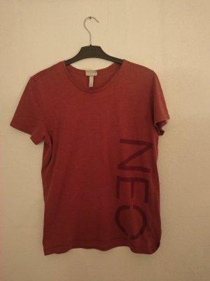 Adidas NEO Camiseta rojo-rojo ladrillo