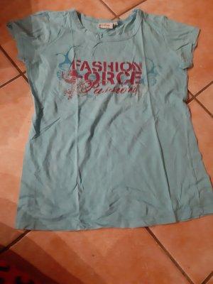 Anonyme Designers T-shirt bleu clair