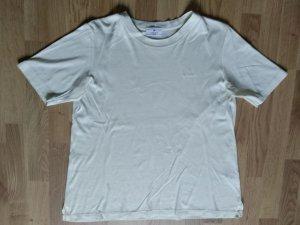 Aigner T-shirt jaune clair coton