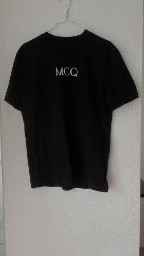 Alexander McQueen T-shirt czarny-biały