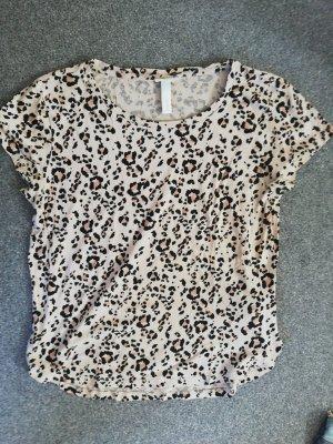 T-shirt Animalprint XS H&M