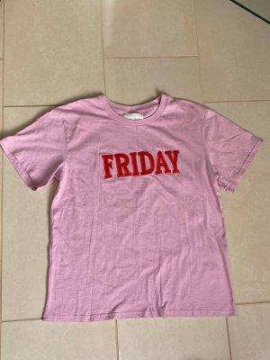 Alberta Ferretti T-shirt rosa-rosso neon