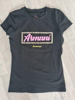 Armani Exchange T-shirt zwart