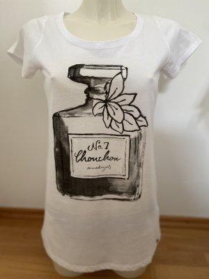 armedangels T-shirt bianco-nero