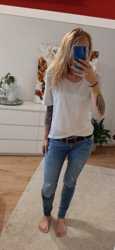 Adidas NEO T-shirt biały