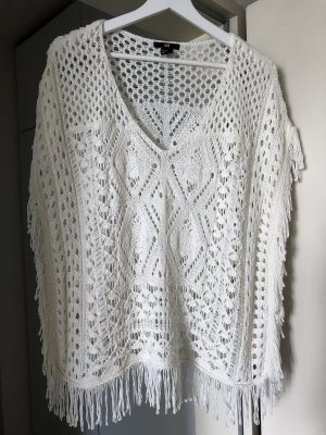 H&M Crochet Top white-natural white