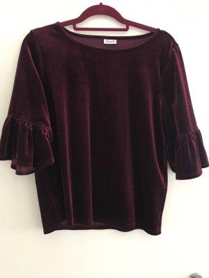 Pigalle T-shirt bordeaux-karmijn