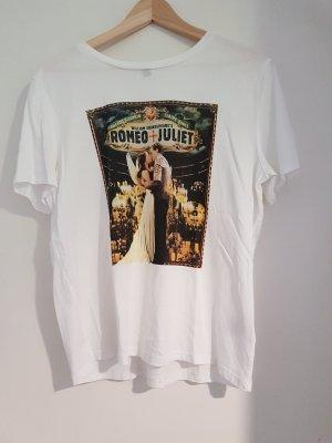 H&M Camicia fantasia bianco