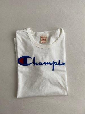 Champion Koszulka oversize biały-niebieski