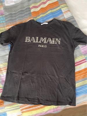 T Shirt Balmain Logo